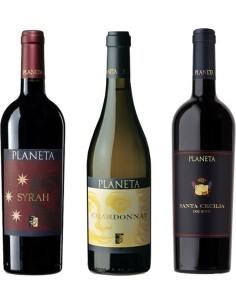 Tris di vini Planeta