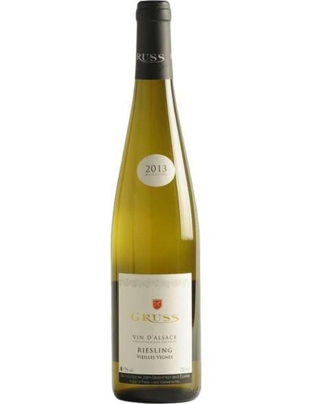 Riesling 2013 Veilles Vignes Gruss Joseph French wine Alsace