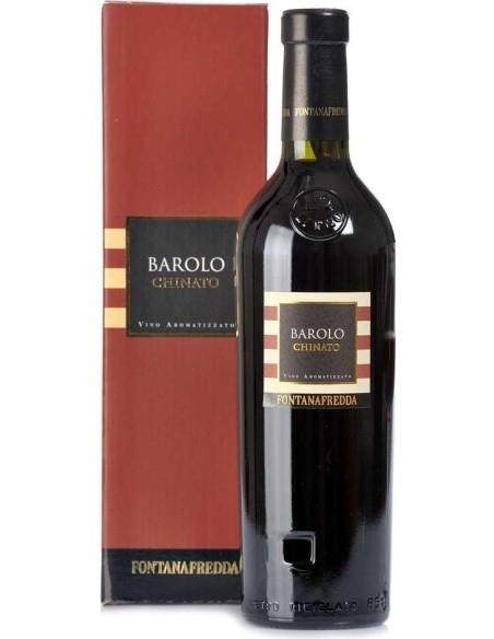 Barolo Chinato Vino dolce Fontanafredda with case