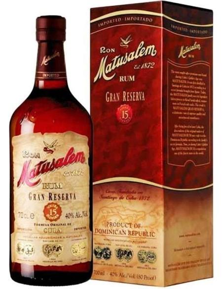 Rum Matusalem Gran Riserva 15 Anni Ron with case