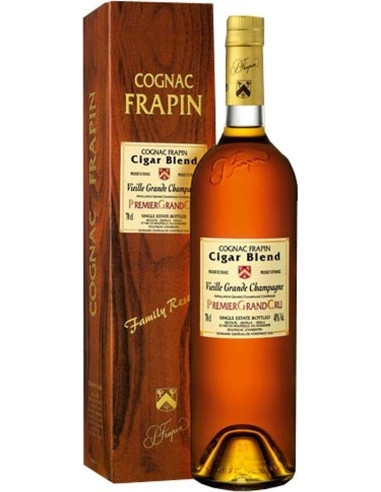 Cognac Cigar Blend Frapin with case
