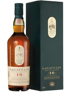 Lagavulin 16 years Scoth Whisky Single Islay Malt with case