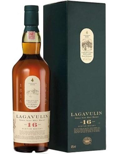 Lagavulin 16 anni Scoth Whisky Single Islay Malt Astucciato