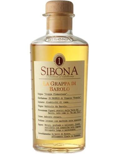 Grappa di Barolo Sibona 50 cl
