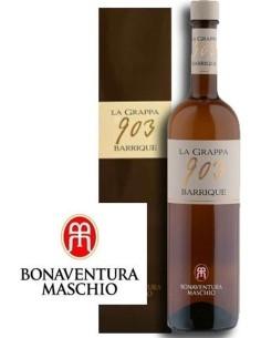 Grappa 903 Barrique Bonaventura Maschio with case