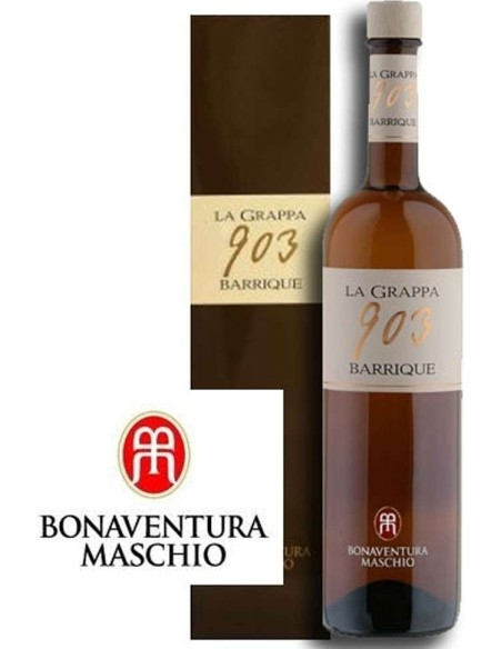 Grappa 903 Barrique Bonaventura Maschio with case