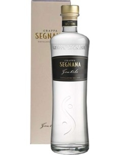 Gentile Grappa di Chardonnay Segnana with case