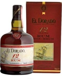 Rum El Dorado 12 anni invecchiamento Astucciato