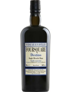 Destino 2003 Single Blended Rum Foursquare con Astuccio