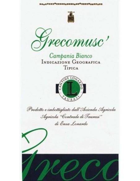 Grecomusc' 2015 Contrade di Taurasi di Enza Lonardo Irpinia Bianco IGT