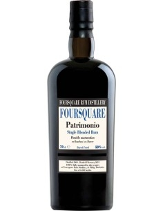 Patrimonio Single Blended Rum Foursquare with case