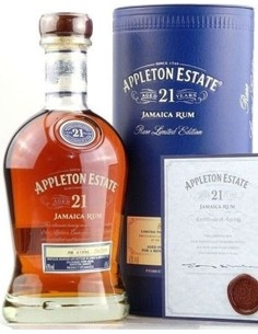 Appleton Estate 21 Jamaica Rum with case
