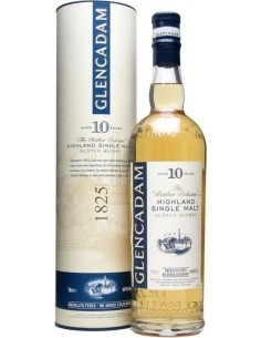 Highland Single Malt Scotch Whisky 10 years old Glencadam con astuccio