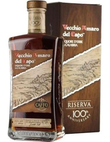 Vecchio Amaro del Capo Riserva del Centenario Caffo con scatola