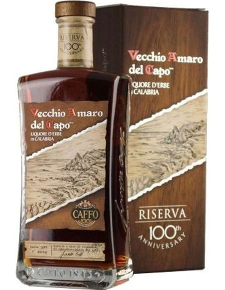 Vecchio Amaro del Capo Reserve of Centenary Caffo with case