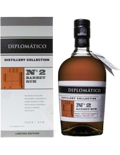 Diplomatico Rum n.2 Distillery Collection Single Column Barbet