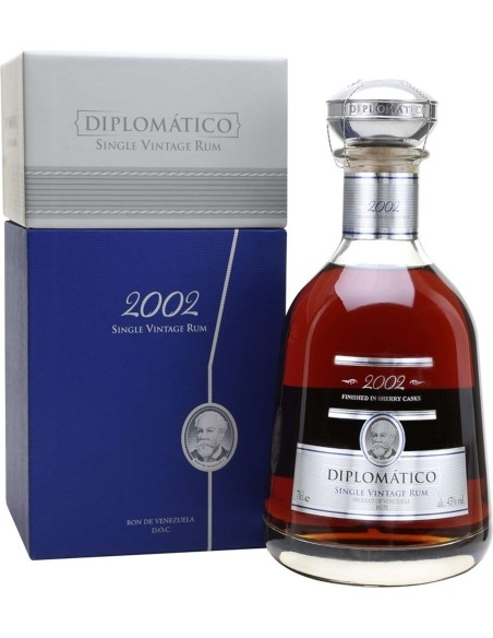 Rum Diplomatico Single Vintage 2004 with case