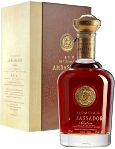 Diplomatico Ambassador Selection Rum with case
