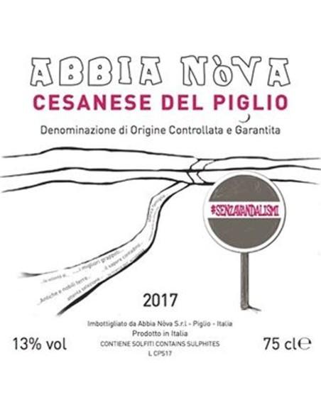 Cesanese del Piglio 2017 Abbia Nova DOCG