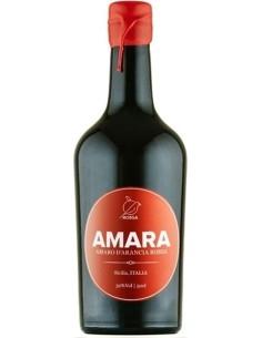 """Amara"" Amaro di Arancia rossa di Sicilia Rossa Sicily"