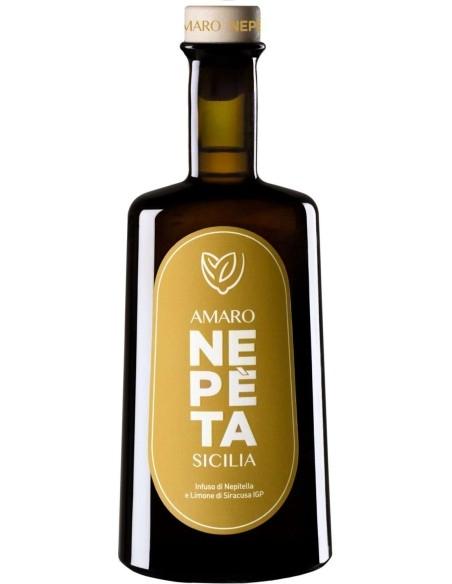 Amaro Nepèta Sicilia Infuso di Nepitella e Limone di Siracusa