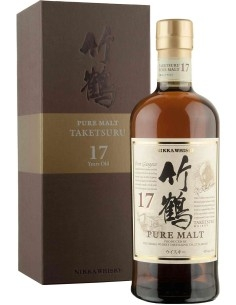 Taketsuro Pure Malt 17 Nikka Whisky with case