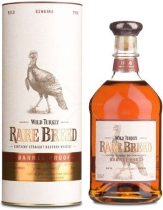 Wild Turkey RareBreed Bourbon Whiskey Barrel Proof con Astuccio